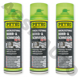 3 bombes spray 500ml Petec...