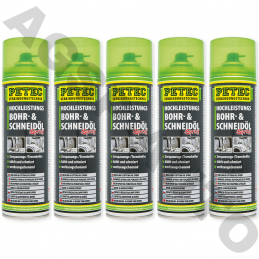 5 bombes spray 500ml Petec...